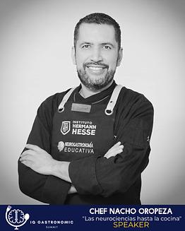 Chef Nacjo Oropeza - Neurociencia en la