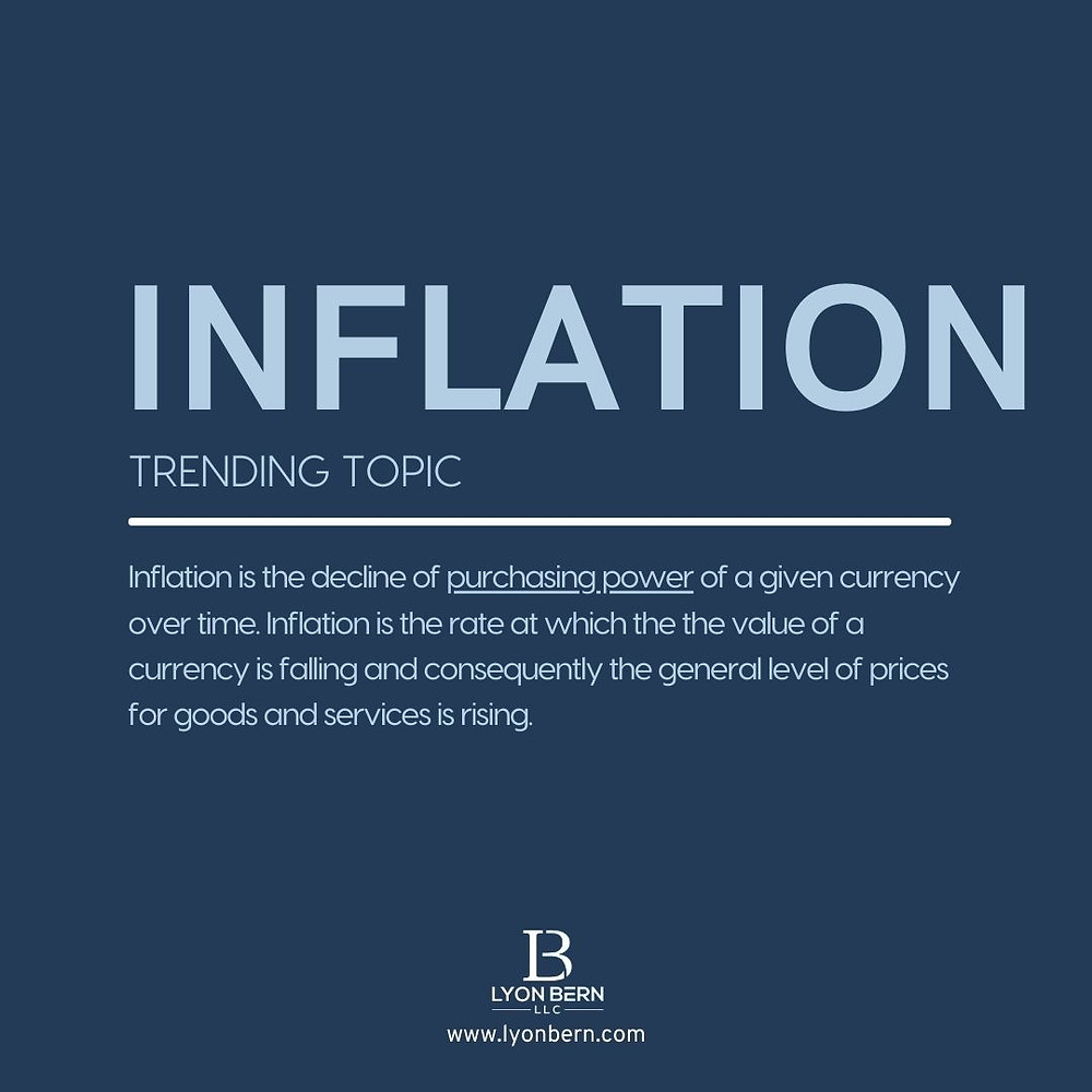 What is inflation - Definition of inflation in 2021