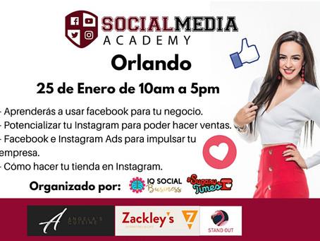Press release -  La guru internacional Yazz Contla trae a Orlando su Social Media Academy