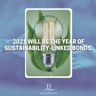 Will 2021 be the year of green investment and sustainibility-linked bonds?