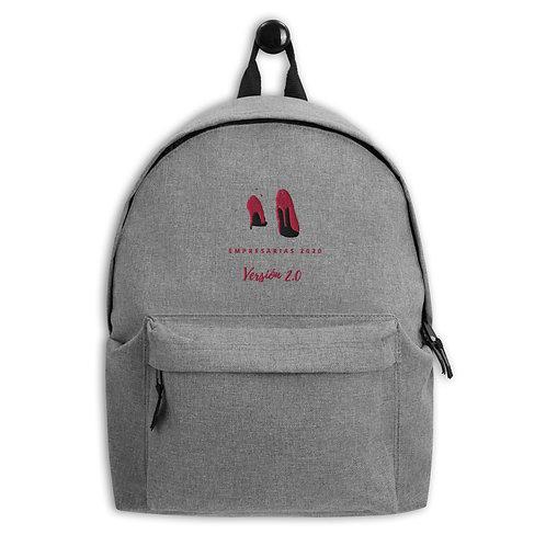 Embroidered Backpack EMPRESARIAS