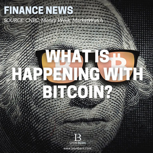 What is happening with Bitcoin?