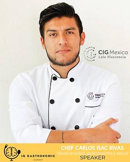 Chef Carlos Isac Rivas - Biodiversidad y