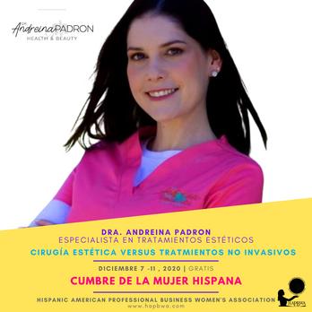Dra Andreina Padron - Cumbre de la Mujer