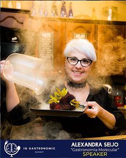 Chef Alexandra Seijo - Gastronomia molec