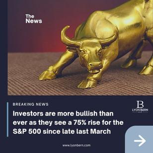 Investors are more bullish than ever