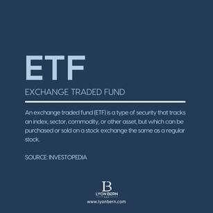 Term of the day: What is an ETF?