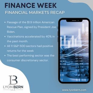 Finance Week Recap