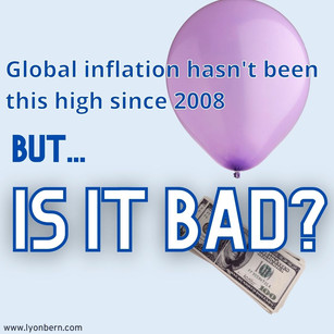Global inflation hasn't been this high since 2008. Why is inflation going up?