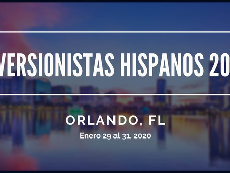 Press release 'Inversionistas Hispanos 2020' se lanza en Orlando para inversionistas hispanos