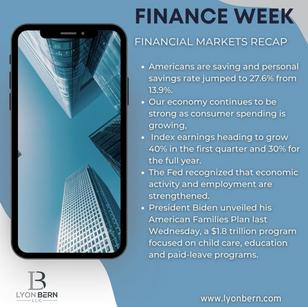 Financial Weekly Recap