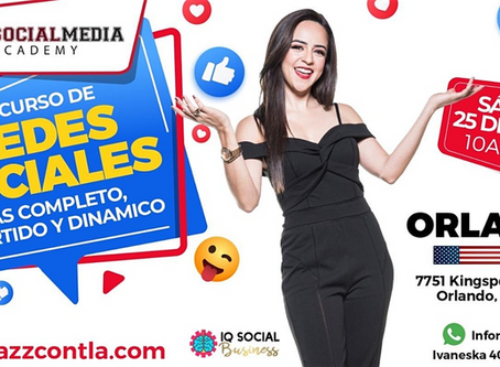 Social Media Academy in Spanish in Orlando is here!