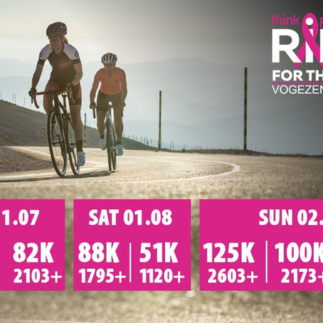 Ride For The Cure: jouw zomertrip in de Vogezen
