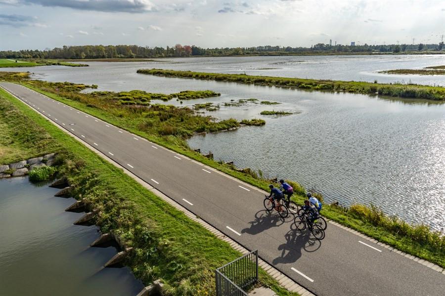 fietstoertocht rondje biesbosch