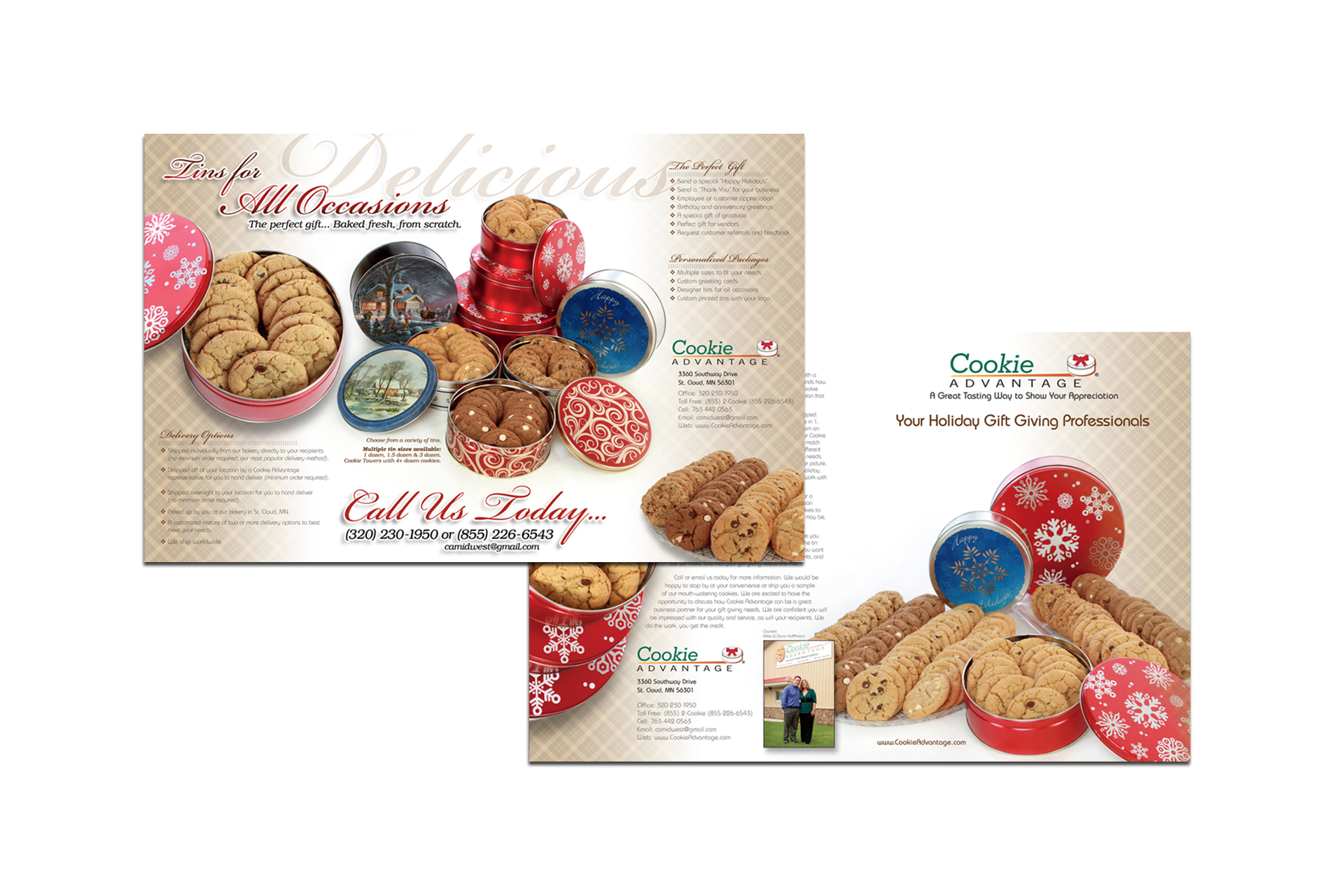 Cookie Advantage Sales Brochure