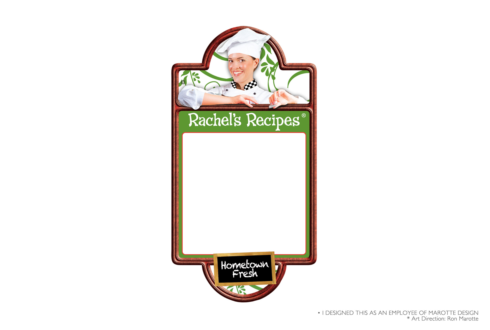 Food Packaging Label