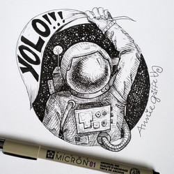 YOLO-Art Journal Drawing