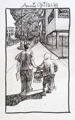 Service-Art Journal Drawing