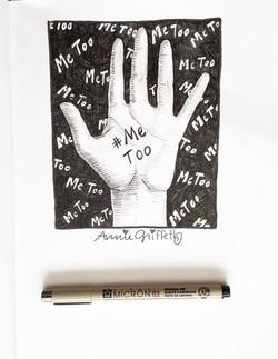 Me Too-Art Journal Drawing