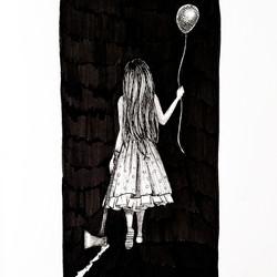 Monsters-Art Journal Drawing