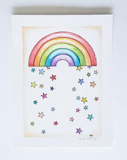 Star Fall Rainbow