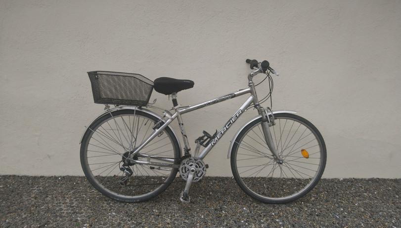 Vélo de ville Mercier, 21 vitesses, taille L - 180€