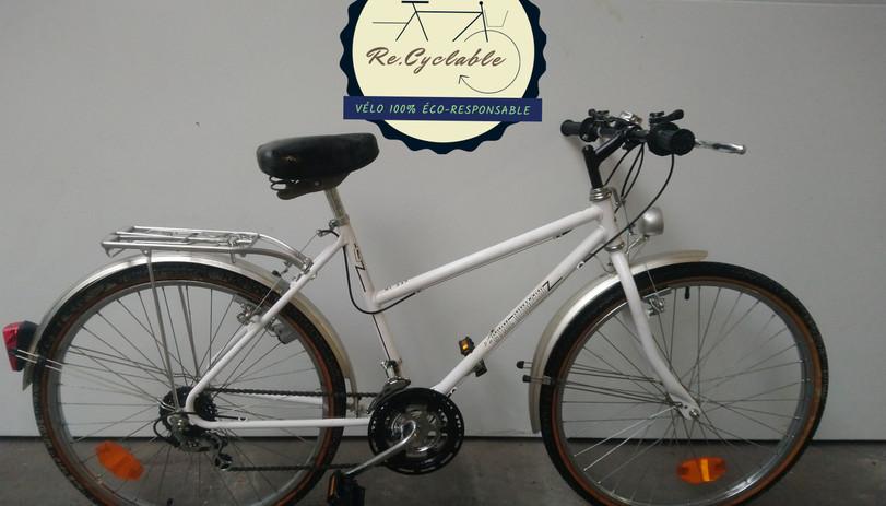 Vélo de ville Cyril Guimard, taille S - 160€