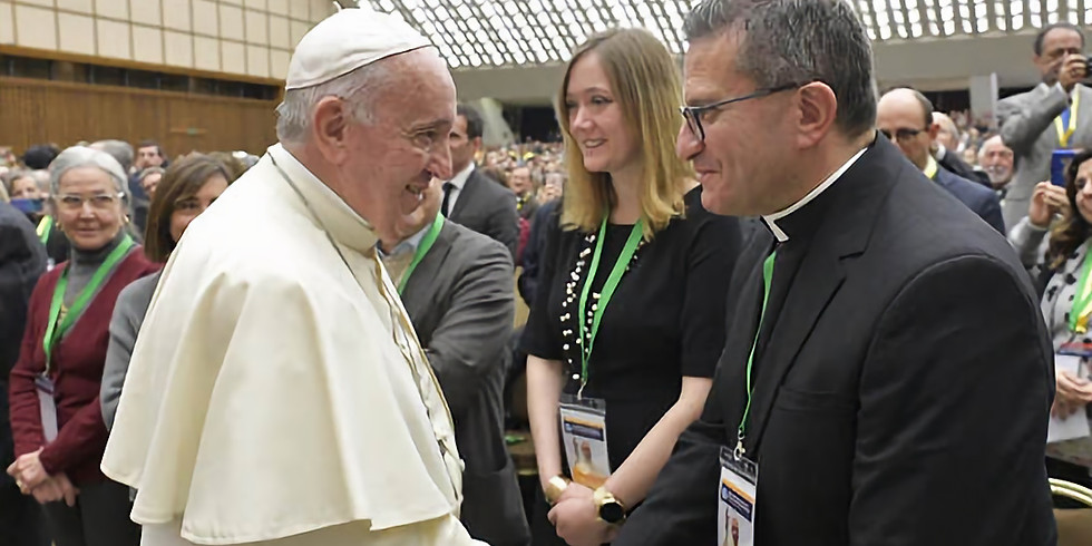 PECS Papal Audience with Pope Francis