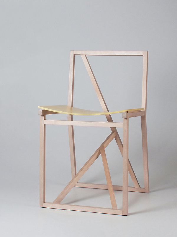 A lightweight design chair 'Branch' prototypes were presented in the Greenhouse area for young and emerging designers at the Stockholm Furniture Fair. Design by tootedisainer Triin Maripuu, nordic design studio