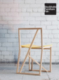 Wooden chair Branch by Triin Maripuu, presented in Greenhouse, Stockholm Furniture and Light Fair, Nordic Design