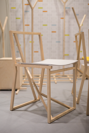 Chair Branch at Stockholm Design Week 2015, photo by Arthur Hitchock in core77