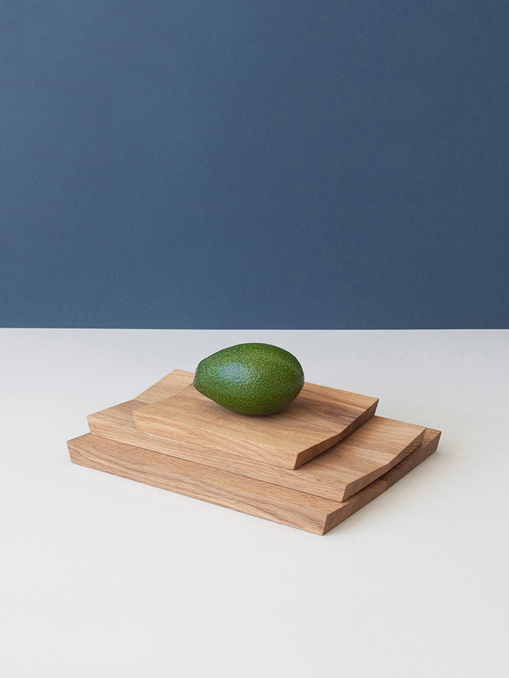 Minimal design serving board FOLD