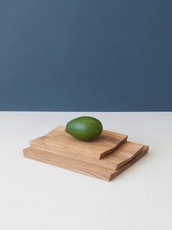 Minimal design serving board FOLD