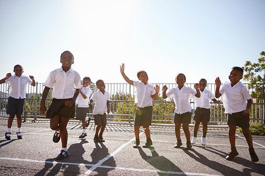 elementary-school-kids-having-fun-in-sch