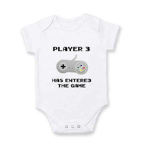 Pregnancy Announcement: Gamer Baby V.2