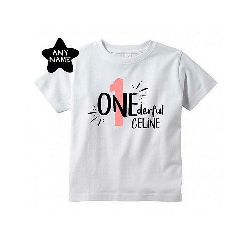 1ONEderful (Personalised)