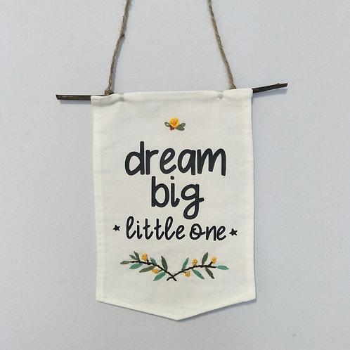 Nursery Banner - Dream Big Little One