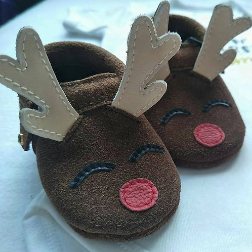 Christmas Series: Rudolph Moccasins
