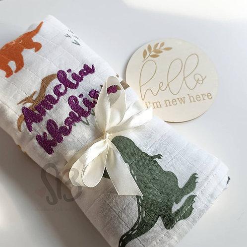 Baby Muslin Swaddles / Blankets