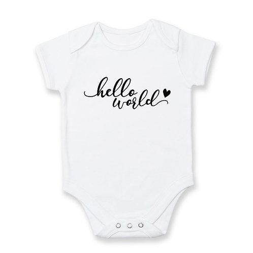 Pregnancy Announcement: Hello World
