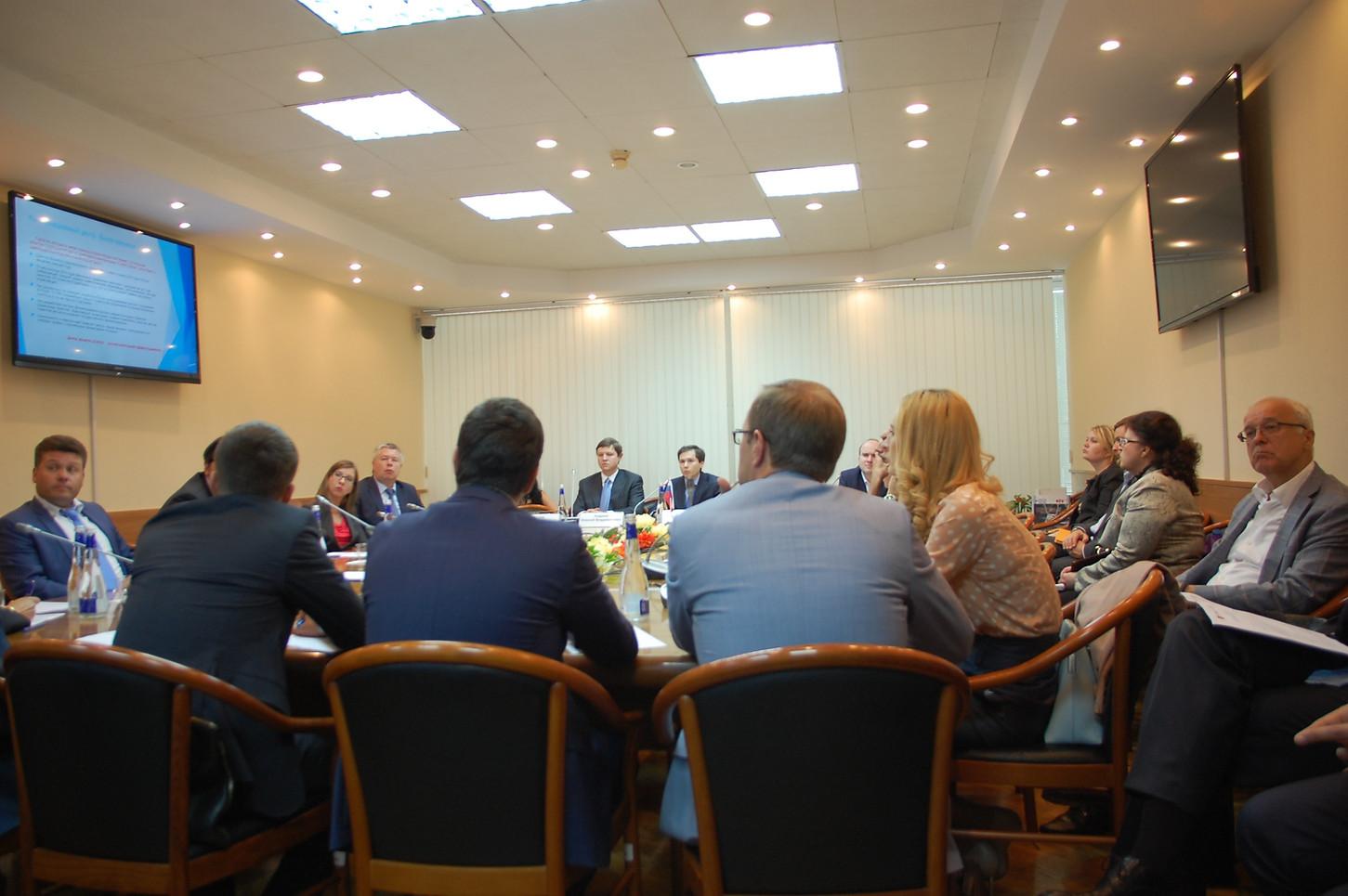 Заседание в ГД с представителями НПФ