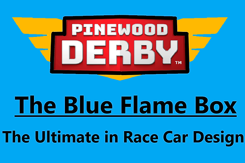 The Blue Flame Racer