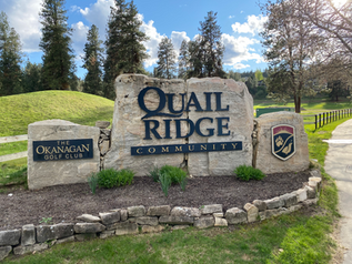 Quail Ridge Community Sign