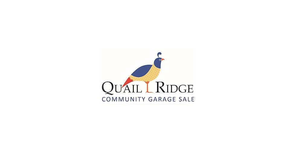 Quail Ridge Community Garage Sale
