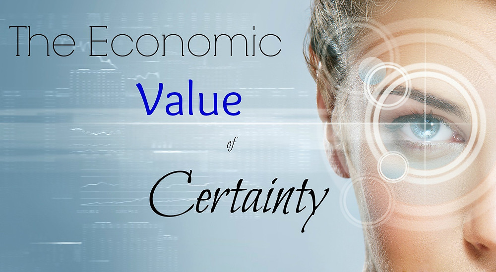 Is your current financial plan contain certainty?