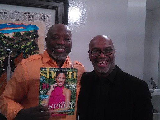 Leroy Campbell talks with Omar Palmer for Sheen MAGAZINE
