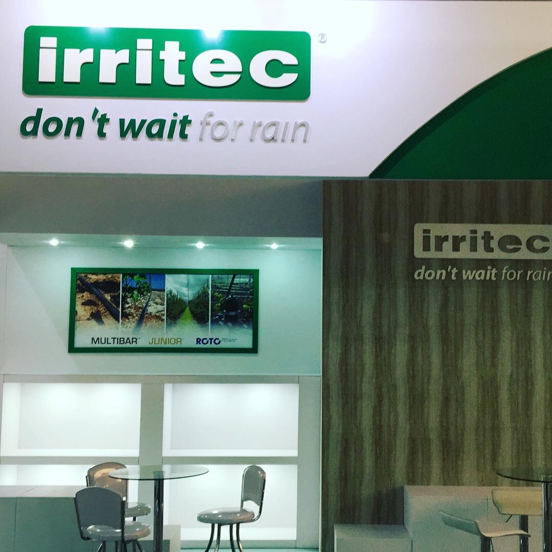 Stand IRRITEC - Hortitec 2018