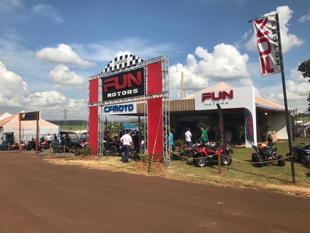 Fun Motors/CFMOTO - Agrishow 2019