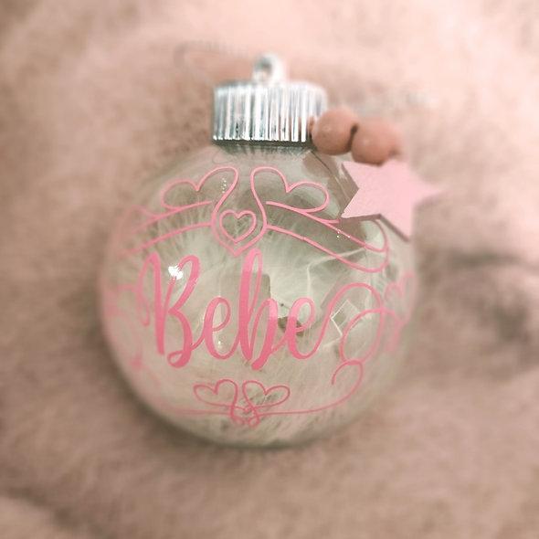 Bola de Navidad bebe Personalizada