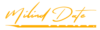 Milind Date Logo Yellow.png